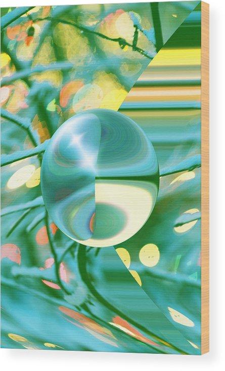 Inna Nedzelskaia Wood Print featuring the digital art Spring Dream by Inna Nedzelskaia