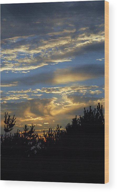 Bay Photographs Wood Print featuring the photograph Sunset Bay 8 by Joyce StJames
