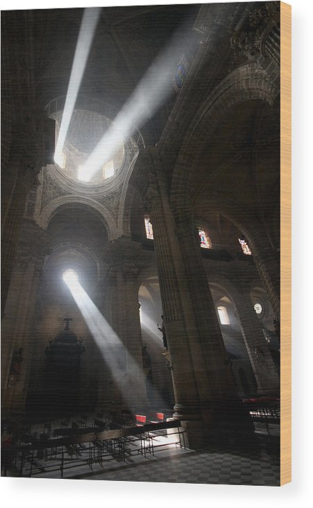 Church Wood Print featuring the photograph The Holy Hour by Jason Hochman