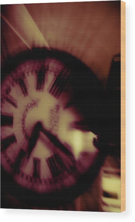 Time Wood Print featuring the photograph Time Ix by Grebo Gray