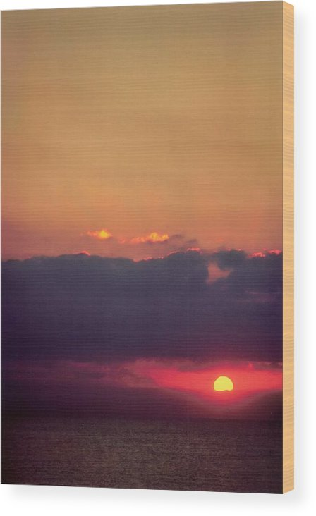 Landscape Wood Print featuring the photograph Vertical Number 17 by Sandra Gottlieb