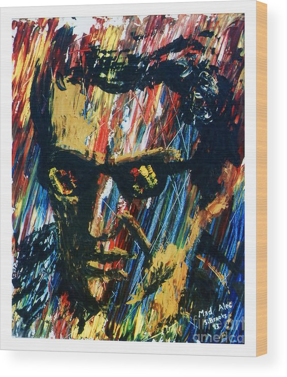 Stephen Wood Print featuring the painting Mad Alec by Stephen Brooks