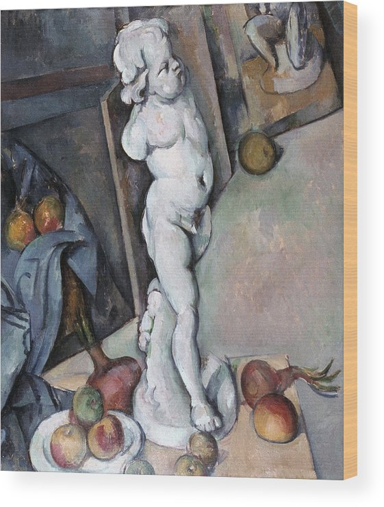 1895 Wood Print featuring the photograph Cezanne: Sill Life, C1895 by Granger