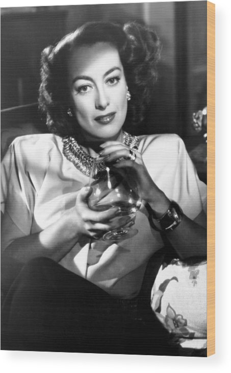 1940s Movies Wood Print featuring the photograph Humoresque, Joan Crawford, 1946 by Everett