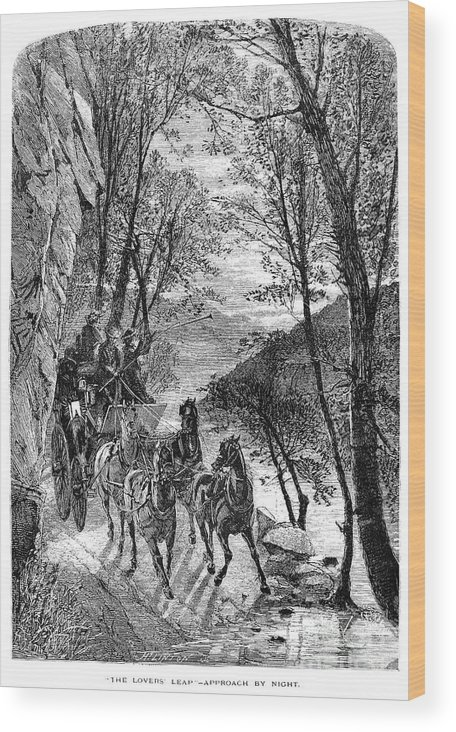 1873 Wood Print featuring the photograph French Broad River, C1873 by Granger