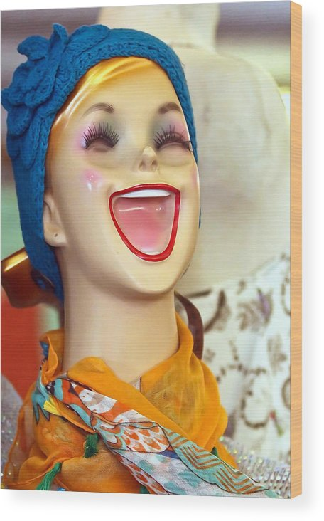 Doll Wood Print featuring the photograph Jacy by Elizabeth Hart
