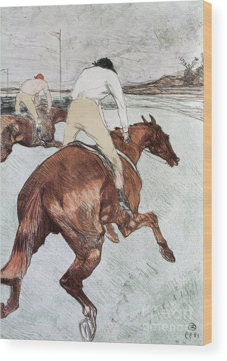 1899 Wood Print featuring the photograph Toulouse-lautrec, 1899 by Granger