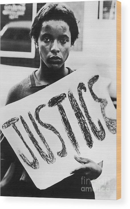 1960s Wood Print featuring the photograph Civil Rights, 1961 by Granger