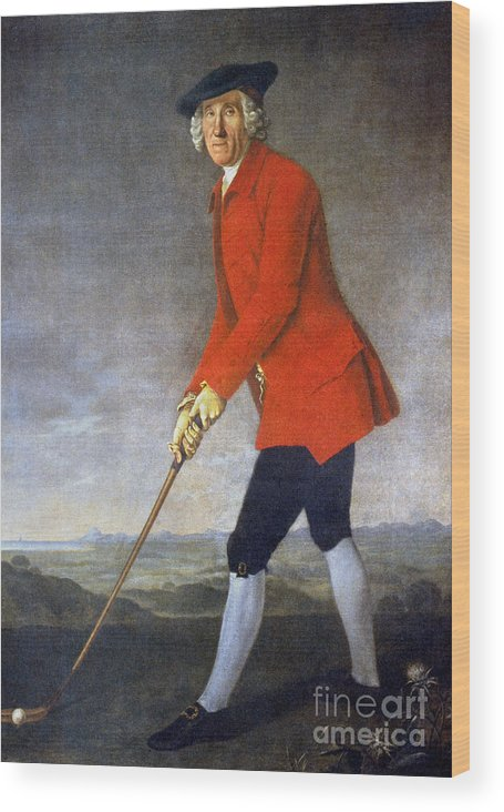 18th Century Wood Print featuring the photograph George Chambers: by Granger
