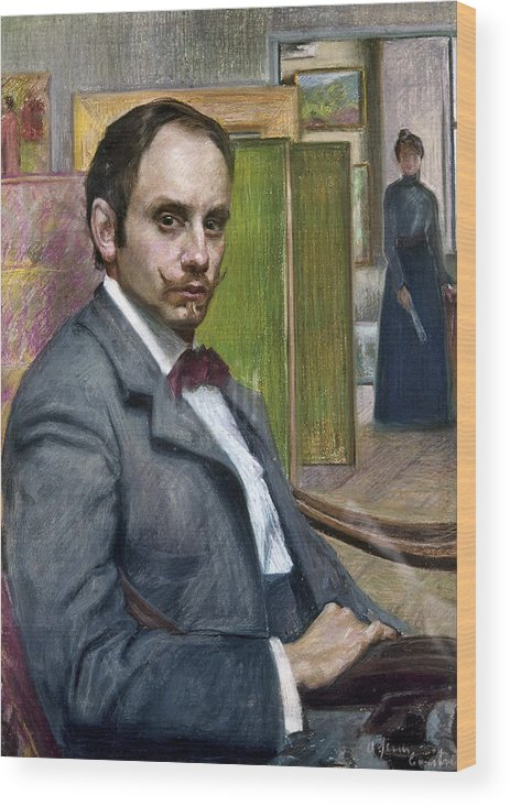 1900 Wood Print featuring the photograph Gerardo Murillo (1875-1964) by Granger