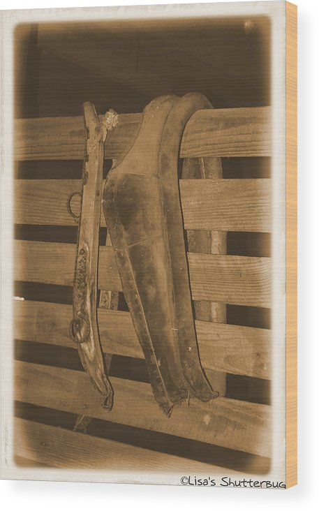 Barn Wood Print featuring the photograph Mcdonald 2 by Lisa Johnston