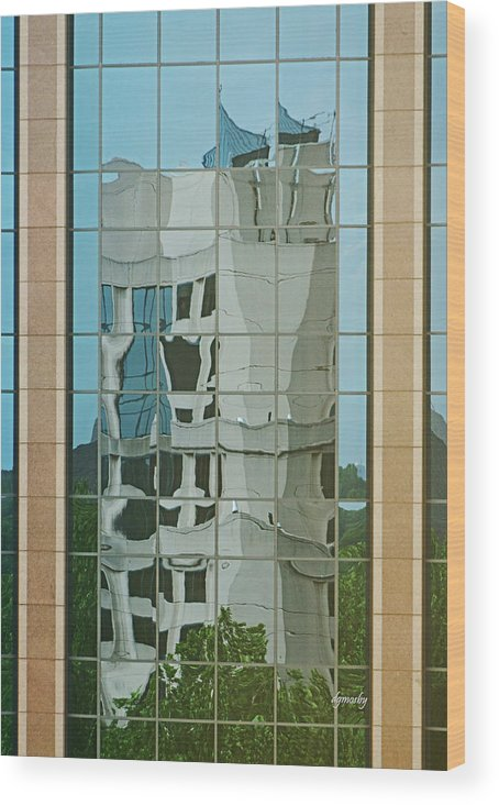 Reflection Wood Print featuring the photograph Reflection 2387 by David Mosby