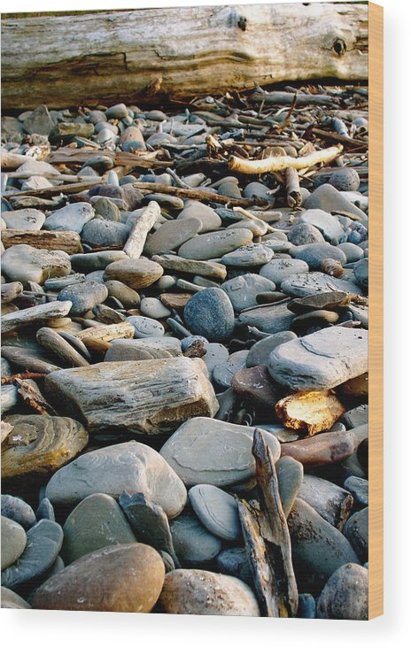 Wood Print featuring the photograph Shore by Jennifer Addington