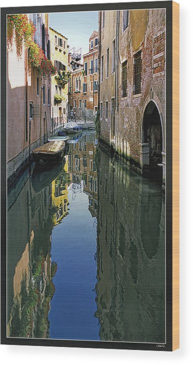 Venice Wood Print featuring the photograph Venice 26 by Victor Yekelchik