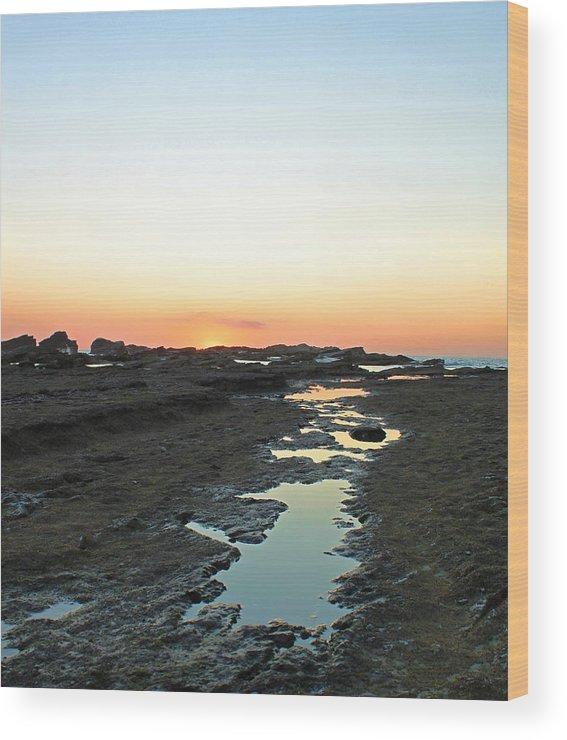 Nosara Wood Print featuring the photograph Nosara Playa Pelada Costa Rica Martian Landscape by Joseph Semary