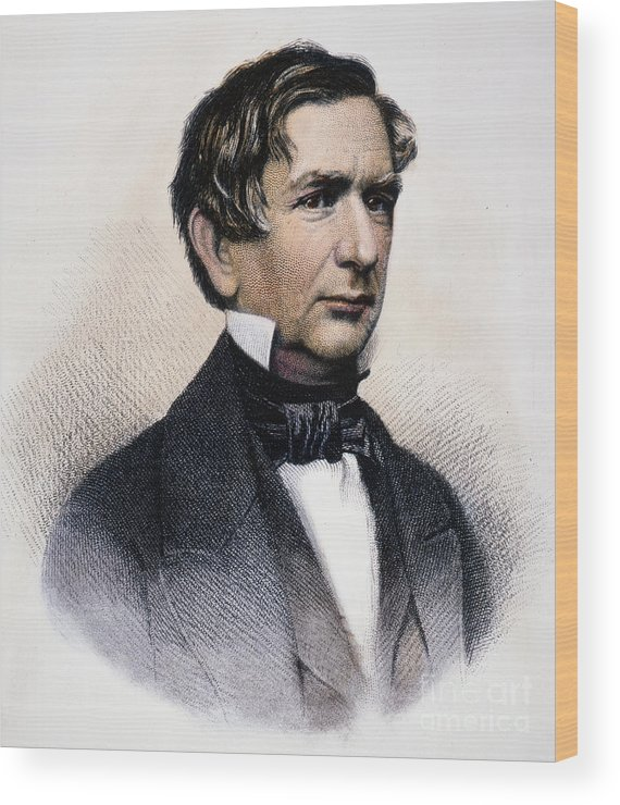 19th Century Wood Print featuring the photograph William Henry Seward by Granger