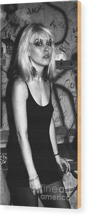 Three Quarter Length Wood Print featuring the photograph Mark Sullivan 70s Rock Archive by Mark Sullivan