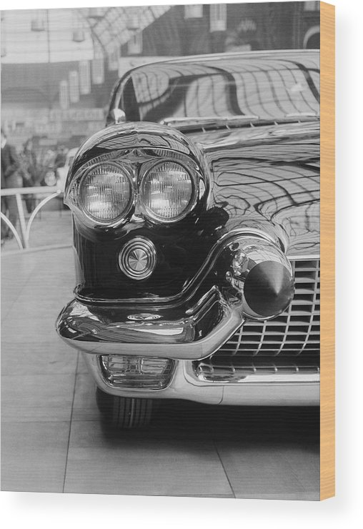 1950-1959 Wood Print featuring the photograph Cadillac by Thurston Hopkins
