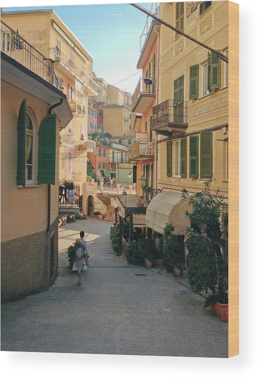 Toddler Wood Print featuring the photograph Manarola Italy by M Swiet Productions