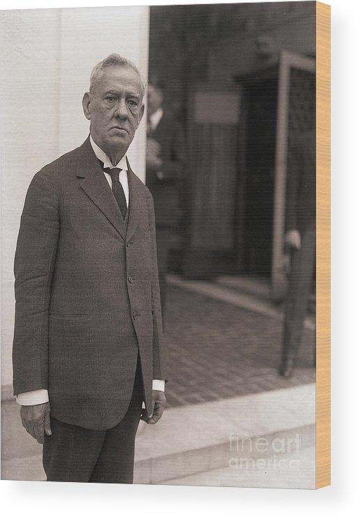 Three Quarter Length Wood Print featuring the photograph Doctor Alfredo Zayas by Bettmann