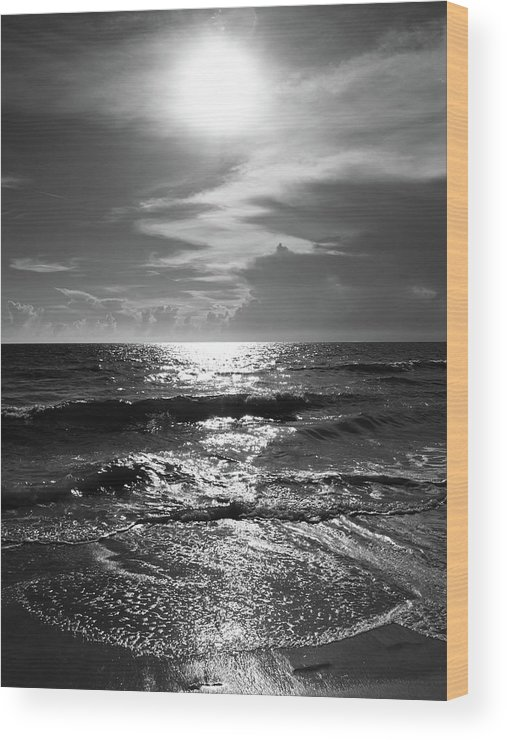 Water's Edge Wood Print featuring the photograph Helios by Robert S. Donovan