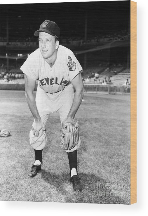 People Wood Print featuring the photograph Ralph Kiner by Kidwiler Collection