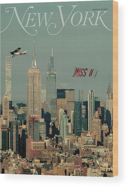 New York Magazine Wood Print featuring the photograph Miss U by New York Magazine