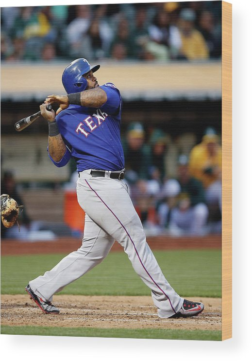 People Wood Print featuring the photograph Prince Fielder by Ezra Shaw