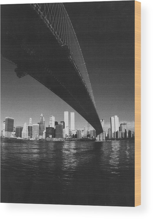Famous Buildings Wood Print featuring the photograph World Trade Center Nyc by Steven Huszar