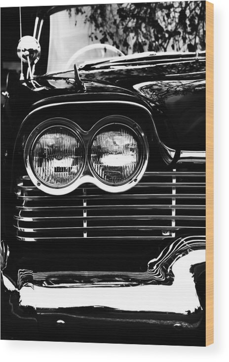 Desoto Wood Print featuring the photograph Menacing Desoto by John Monteath