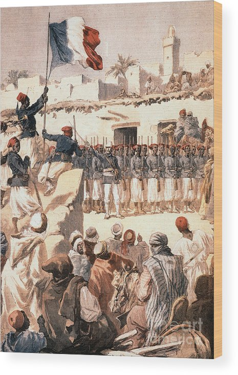 1894 Wood Print featuring the photograph Timbuktu, 1894 by Granger