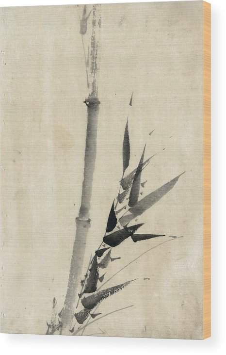1850 Wood Print featuring the photograph Japan: Bamboo, C1830-1850 by Granger