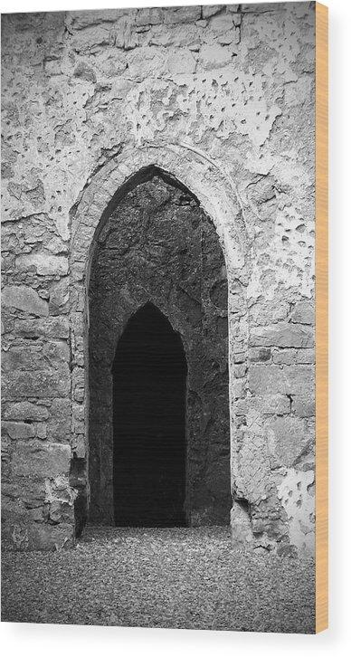 Ireland Wood Print featuring the photograph Inner Sanctum Fuerty Church Roscommon Ireland by Teresa Mucha