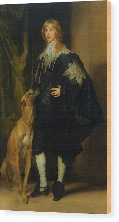 Painting Wood Print featuring the painting James Stuart - Duke Of Richmond And Lennox            by Mountain Dreams