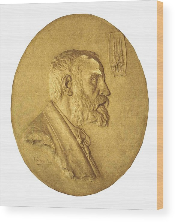 Vertical Wood Print featuring the photograph Gaudi I Cornet, Antoni 1852-1926 by Everett