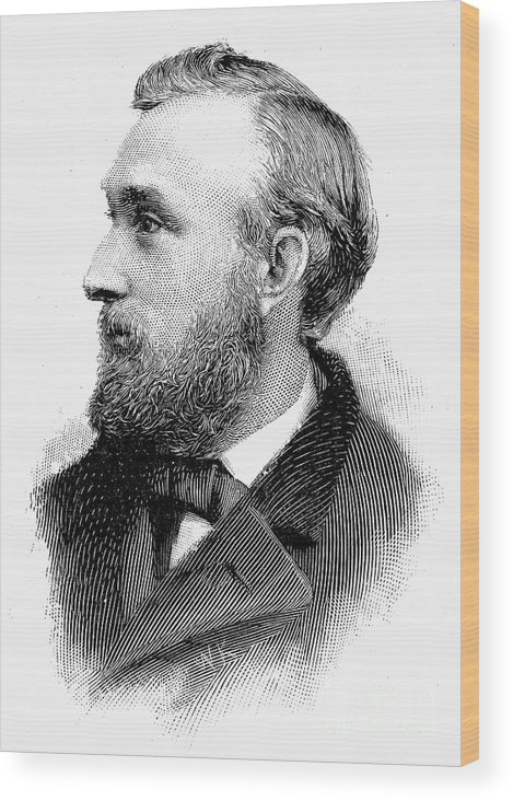19th Century Wood Print featuring the photograph Edward Charles Pickering by Granger