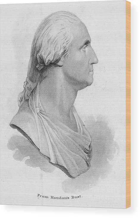 18th Century Wood Print featuring the photograph George Washington by Granger