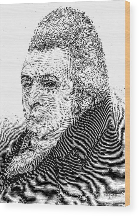 18th Century Wood Print featuring the photograph Royall Tyler (1757-1826) by Granger