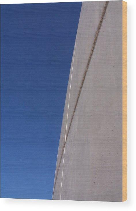 Richard Meier Wood Print featuring the photograph Jubilee 2 by Adam Schwartz