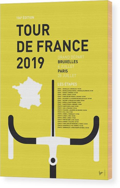 My Tour De France Minimal Poster 2019 by Chungkong Art