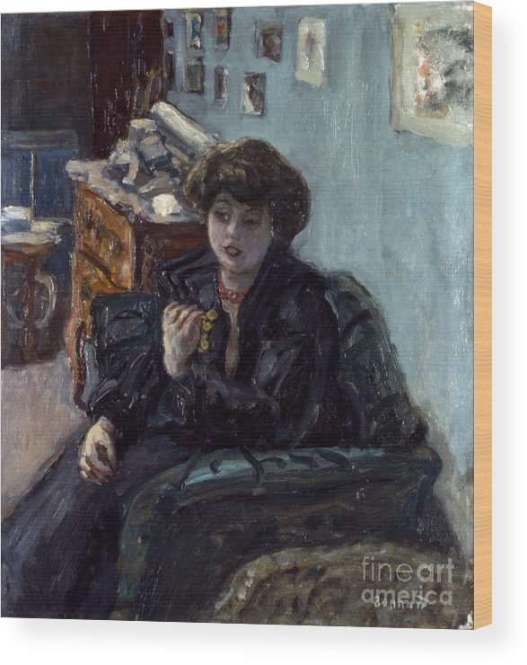 19th Century Wood Print featuring the photograph Bonnard: Lady, 19th C by Granger