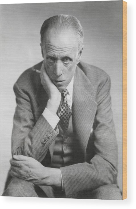 History Wood Print featuring the photograph Sinclair Lewis, American Novelist by Everett