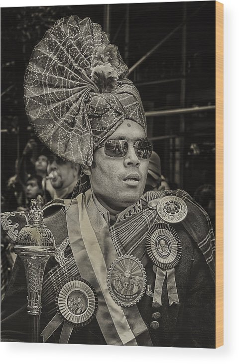 India Day Parade Wood Print featuring the photograph India Day Parade Nyc 8 19 12 by Robert Ullmann