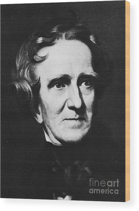 19th Century Wood Print featuring the photograph Thomas Sully (1783-1872) by Granger