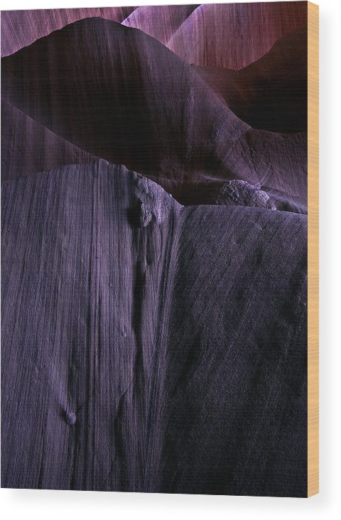 Sandstone Wood Print featuring the photograph Transitions by Mike Dawson