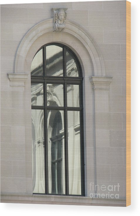 Windows Wood Print featuring the photograph Window by Amanda Barcon