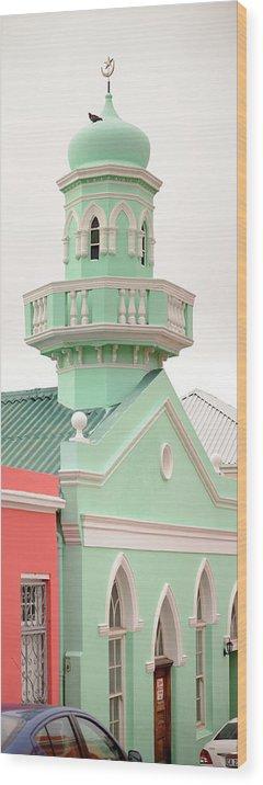 Bokaap Wood Print featuring the photograph Bokaap Mosque by Bob VonDrachek