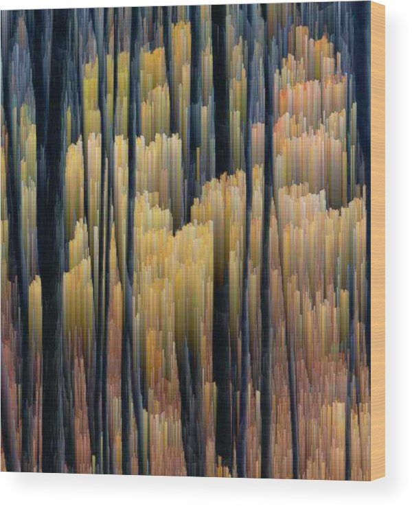 Forest Wood Print featuring the photograph Tall Forest 2 by Lyle Crump
