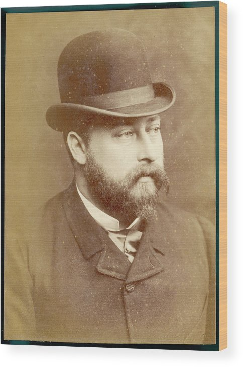 Edward Wood Print featuring the photograph Edward Vii, British Royalty As Prince by Mary Evans Picture Library