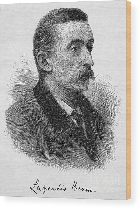 1887 Wood Print featuring the photograph Lafcadio Hearn (1850-1904) by Granger